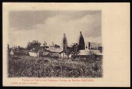 1900s Postal Antigo: Fornos FABRICA De FAIANÇAS Caldas Da Rainha. Edição DIAS & PARAMOS. Old Postcard (Leiria) PORTUGAL - Leiria
