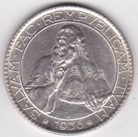 San Marino. 20 Lire 1936, En Argent, KM# 11 - Saint-Marin