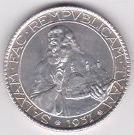 San Marino. 20 Lire 1937, En Argent, KM# 11a - Saint-Marin