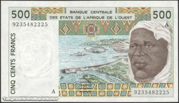 TWN - IVORY COAST (W.A.S.) 110Ab - 500 Francs 1992 Signatures: Korsaga & Ouattara UNC - Elfenbeinküste (Côte D'Ivoire)