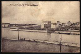 AVEIRO Um Trecho Da Ria E Restos Antiga Capella De S.João Em Demolição. Editor BAPTISTA MOREIRA. Old Postcard PORTUGAL - Aveiro