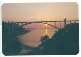1995 Pocket Calendar Calandrier Calendario Portugal Lugares Cidades Porto Oporto Ponte Bridge Sunset - Calendriers