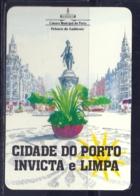 1991 Pocket Calendar Calandrier Calendario Portugal Lugares Cidades Porto Oporto Câmara Municipal - Calendriers