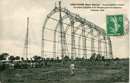 VOULTEGON. 1912.Hangars Destinés à Recevoir Les Ballons Dirigeables - Francia