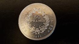50 F Hercule - Argent - 1974 - France