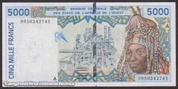 TWN - IVORY COAST (W.A.S.) 113Ai - 5000 5.000 Francs 1999 Signatures: Gnandou & Banny AU/UNC - Côte D'Ivoire