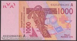 TWN - IVORY COAST (W.A.S.) 115Aa - 1000 1.000 Francs 2003 (2003) Signatures: Tignokpa & Banny UNC - Elfenbeinküste (Côte D'Ivoire)