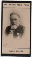 Jules Breton Par Reutlinger , Maire De Courrières - Peintre Du Monde Paysan - Collection Photo Felix POTIN 1900 - Félix Potin