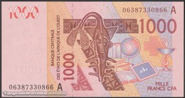 TWN - IVORY COAST (W.A.S.) 115Ad - 1000 1.000 Francs 2003 (2006) Signatures: Laourou & Banny UNC - Côte D'Ivoire