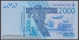TWN - IVORY COAST (W.A.S.) 116Aa - 2000 2.000 Francs 2003 (2003) Signatures: Tignokpa & Banny UNC - Côte D'Ivoire