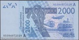 TWN - IVORY COAST (W.A.S.) 116Ac - 2000 2.000 Francs 2003 (2005) Signatures: Laourou & Banny UNC - Elfenbeinküste (Côte D'Ivoire)
