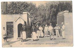 AFRIQUE DU NORD ALGERIE SIDI BEL ABBES  : QUARTIER DES SPAHIS - MILITARIA - Sidi-bel-Abbès