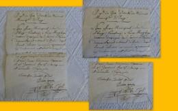 32 EAUZE Premier Empire 1795, Demande Pour Déserteur Espagnol Pierre Mery (Liège) ;   Ref 1341 ; PAP10 - Obituary Notices