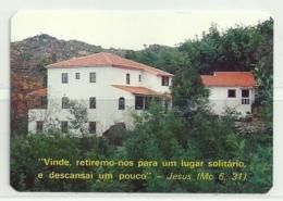 1992 Pocket Calendar Calandrier Calendario Portugal Lugares Cidades Seia Casa Das MImosas - Calendriers