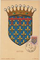 Carte-Maximum FRANCE N° Yvert 899 (ARTOIS) Obl Sp Arras 17.11.51 (Ed Louis) - 1950-59