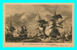 A815 / 551 VOILIER Combat Naval Du Texel Tableau D'Isabey - Fernand Nathan - Voiliers