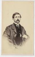 NOTO           CARTONCINO  DA  VISITA  1860- 1900  DIM. (6-6,5 X 10-10,5)  2  SCAN - Tarjetas De Visita