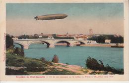 Croisère Du Graf Zeppelin - Un De Ses Passage à VALENCE Août 1934  PRIX FIXE - Luchtschepen
