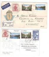 Olympia 1956 , Brief Und Karte In Die DDR - Sommer 1956: Melbourne
