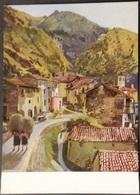 Ak Gemälde , Painting - Tessiner Berghof  - Babs Englaender - TI Ticino