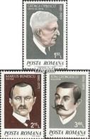 Rumänien Mi.-Nr.: 3759-3761 (kompl.Ausg.) Postfrisch 1981 Persönlichkeiten - 1948-.... Republiken