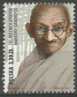 2019 Poland Mi 5162 Mahatma Gandhi MNH  ** - 1944-.... Republiek