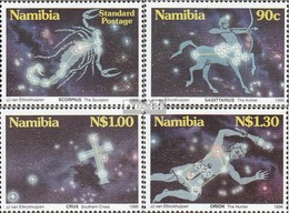 Namibia - Südwestafrika Mi.-Nr.: 819-822 (kompl.Ausg.) Postfrisch 1996 Sternbilder über Namibia - Namibia (1990- ...)