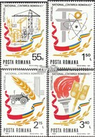 Rumänien Mi.-Nr.: 3803-3806 (kompl.Ausg.) Postfrisch 1981 Nationales Festival - 1948-.... Republiken