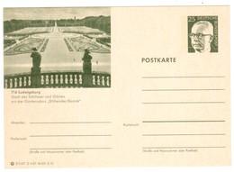 IZ602     Bundesrepublik Deutschland  1972 Ganzsachen-Bildpostkarte LUDWIGSBURG ** - Bildpostkarten - Ungebraucht