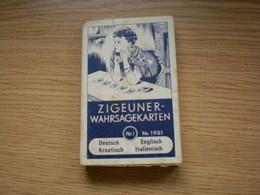 Zigeuner Wahrsagekarten Deutsch Enlisch Kroatisch Italienisch 36 Blatt SETFerd Piatnik Sohne - Kartenspiele (traditionell)