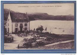 Carte Postale 63. Guéry  Le Grand Hotel Et Le Lac Très Beau Plan - France