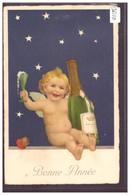 BONNE ANNEE - ENFANT - CHAMPAGNE - ALCOOL - TB - Anno Nuovo