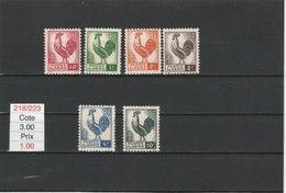 ALGERIE**LUXE N° 218/223 COTE 3.00 - Algérie (1924-1962)