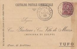 Pietravairano. 1900. Annullo Grande Cerchio PIETRAVAIRANO (CASERTA), Su Cartolina Postale - 1878-00 Umberto I