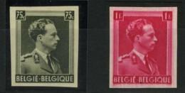 [A2379] België 480 + 528 * - Koning Leopold III - Roi Léopold III - Ongetand - Opl. 200 Ex. - Cote: 42,000 - Belgique