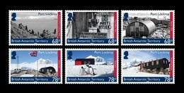 BAT 2019 Mih. 809/14 Natural Harbour Port Lockroy. Ship. Fauna. Penguins MNH ** - Britisches Antarktis-Territorium  (BAT)