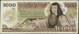 MEXICO - 1.000 Pesos 19.07.1985 {serie XU} XF P.85 (11) - Mexique