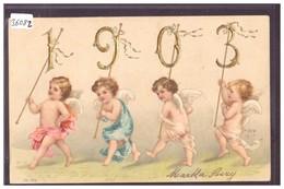 BONNE ANNEE - MILLESIME 1903 - ANGES - TB - New Year
