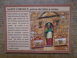 Carnac , Saint Cornely , Patron Des Bêtes à Cornes - Carnac