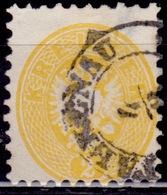 Austria 1863-64, Coat Of Arms, 2kr, Sc#22, Used - 1850-1918 Imperium