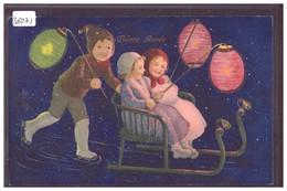 BONNE ANNEE - ENFANTS - LAMPIONS - TB - Anno Nuovo