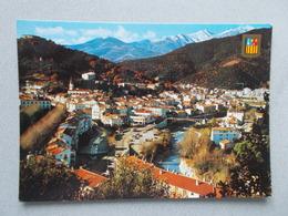 AMELIE LES BAINS (66 Pyrenees Orientales ) VUE GENERALE - France