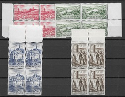 1948 MNH Luxemburg Mi 431-4 - Nuevos