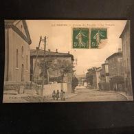 07-ARDECHE- LE POUZIN / Entrée Du Pouzin - Le Temple - Autres Communes