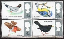 GREAT BRITAIN 1966 British Birds (phosphor) - Nuovi