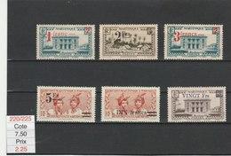 MARTINIQUE**LUXE N° 220/225 COTE 7.50 - Martinique (1886-1947)