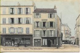 FONTENAY SOUS BOIS  Place D'Armes  Rue Notre-Dame - Fontenay Sous Bois