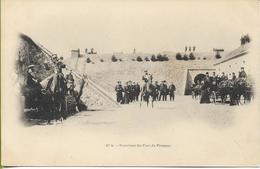 FRESNES Intérieur Du Fort De Fresnes  (visite Du TSAR NICOLAS II En 1902  N° 4) - Fresnes