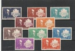 MARTINIQUE**LUXE N° 199/217 COTE 14.40 - Martinique (1886-1947)