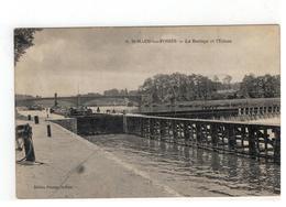 6. St-MAUR-les-FOSSES  -  Le Barrage Et L'Ecluse - Saint Maur Des Fosses
